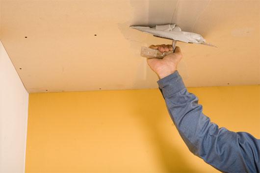 Подготовка и покраска потолков