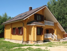 Деревянный дом. В гармонии с природой