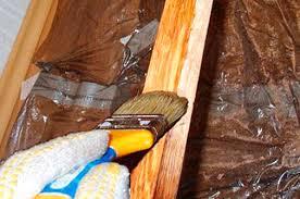 Как красить деревянные рамы