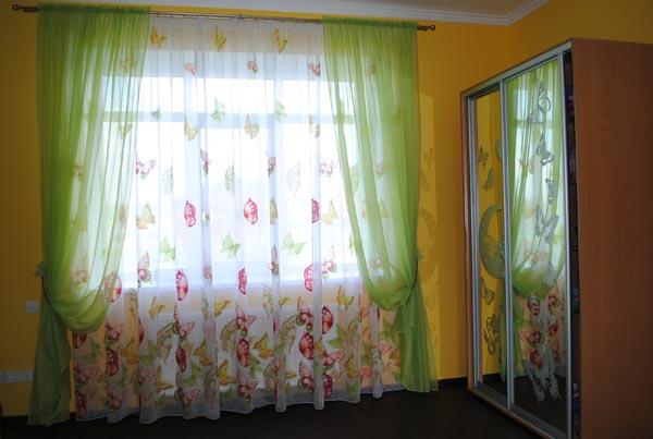 Выбираем шторы для детской комнаты