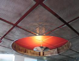 Варианты подвесных потолков из металла