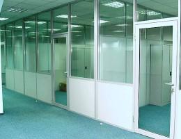Офисные перегородки – основы и особенности монтажа