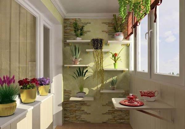 Создаем уютный балкон