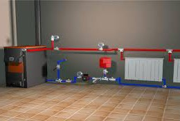 Воздушная система отопления загородного дома