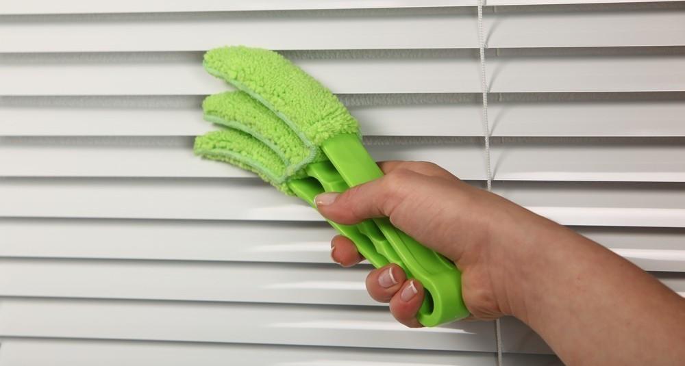 Как чистить жалюзи