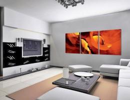 Картины как модный акцент в дизайне интерьера