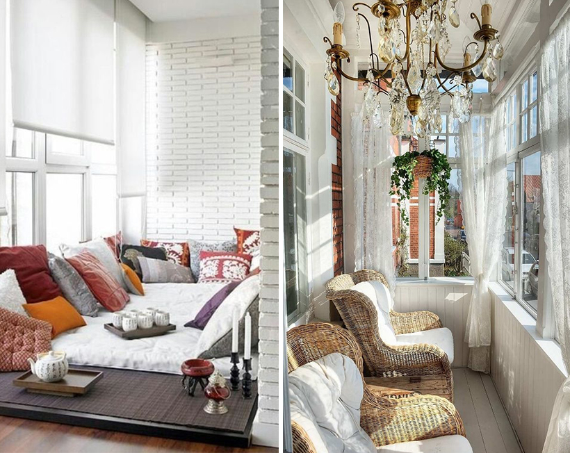 Балкон и лоджия с умом