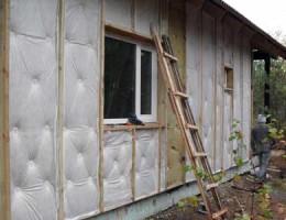 Как правильно утеплить стены дома