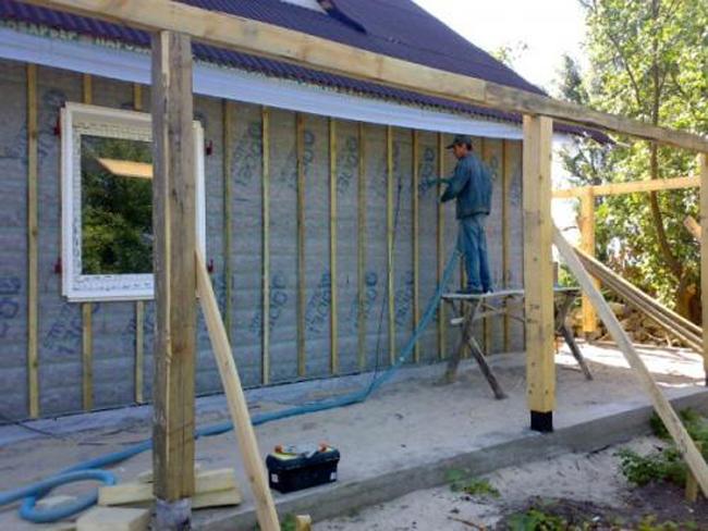 Теплоизоляционные материалы для наружного утепления стен