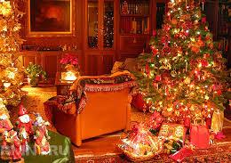 Идеи новогоднего декора в ретро-стиле