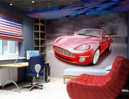 Дорога к успеху: комната для мальчика — эффектного и энергичного