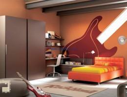 Рок-стиль для комнат подростков