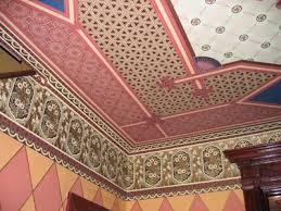 Ремонт потолков в квартире. Оклейка потолка обоями, как правильно наклеить обои.