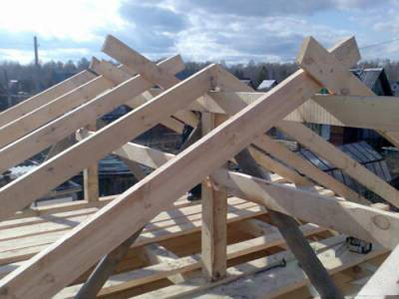 Изготовление крыши дома своими руками
