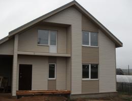 Каркасный дом своими руками цена