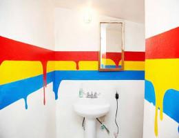 Покраска ванной комнаты своими руками