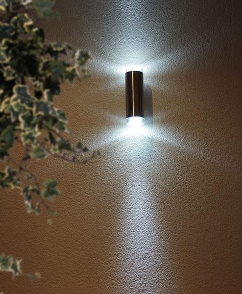 Уличные настенные светодиодные светильники