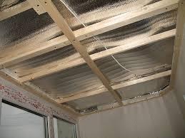 Утепление потолка и пола лоджий
