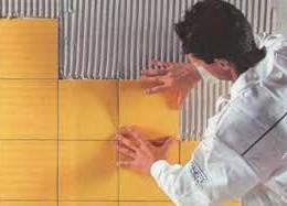 Ремонт санузла и кухни: укладка керамической плитки