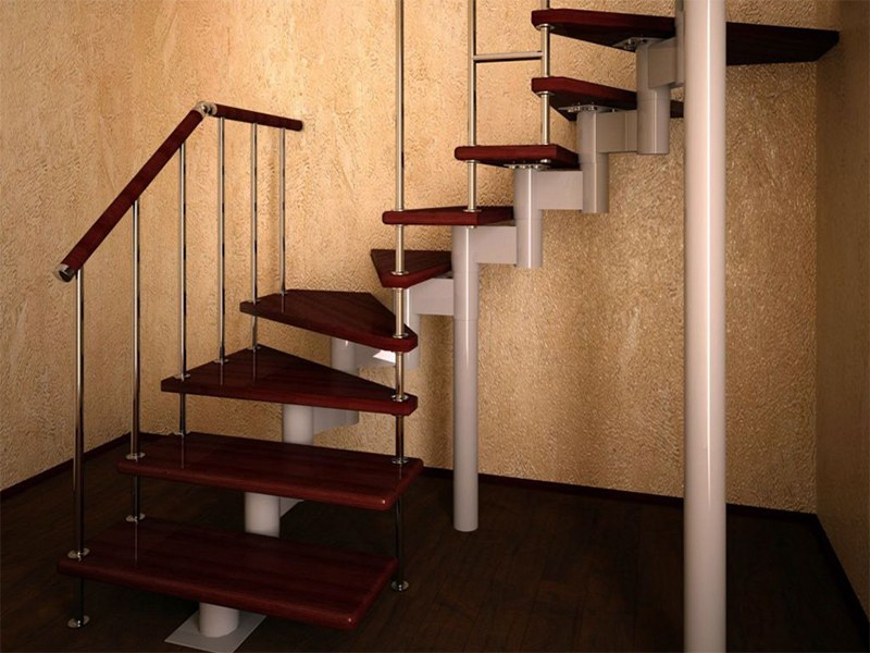 Металлические лестницы – плюсы и минусы