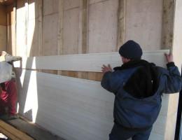 Крепление винилового сайдинга на стены дома