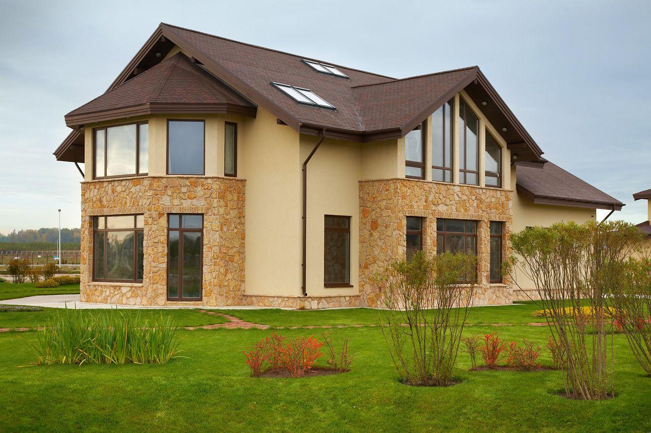 Самые лучшие материалы для фасада дома