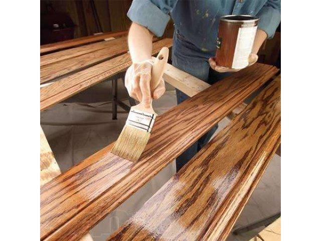 Как покрасить деревянную вагонку