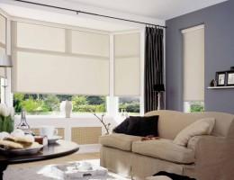 Преображение окна с помощью рулонных штор