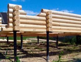 Использование фундамента на винтовых сваях в строительстве