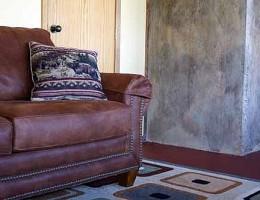 Окрашиваем бетонную стену кислотным красителем