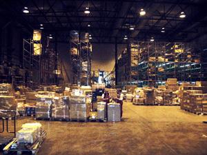 Организация и устройство складов: складской мезонин