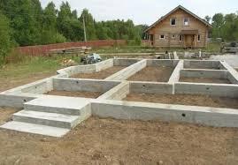 Фундамент деревянного дома своими руками