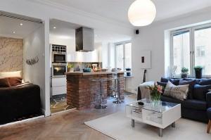 О планировке квартиры-студии