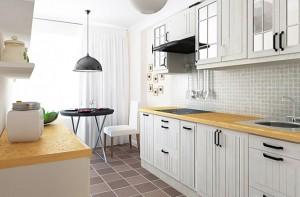 Как обновить интерьер на кухне, пользуясь бюджетными изделиями