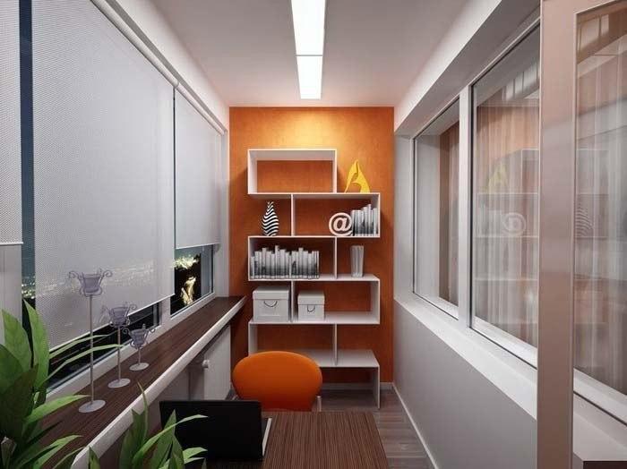 Какие работы нужны при оформлении балкона
