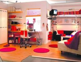 Как удобно обустроить однокомнатную квартиру