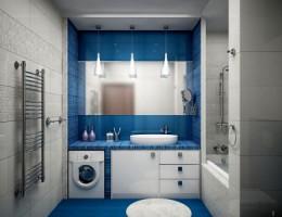 Ремонт ванной комнаты: потолки, плитка, освещение