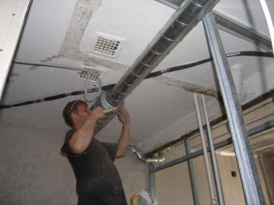 Особенности ремонта в квартире. Обустройство вентиляции