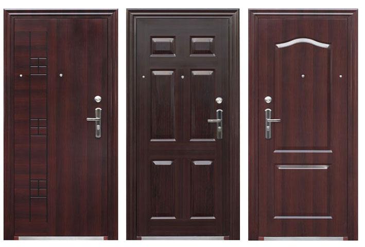 Металлические двери – хорошая защита от плохих гостей