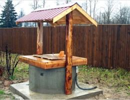 Продажа домиков для колодца, которые станут украшением любого загородного участка