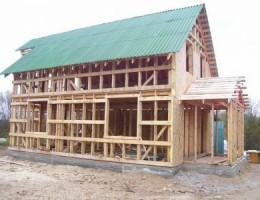 Возведение деревянных домов
