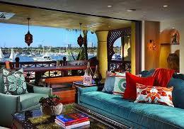 Балкон в оформлении марокканского стиля