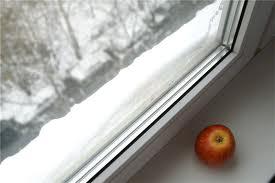 Утепление оконных конструкций на зиму
