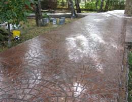 Декоративный бетон в строительстве: применение, укладка