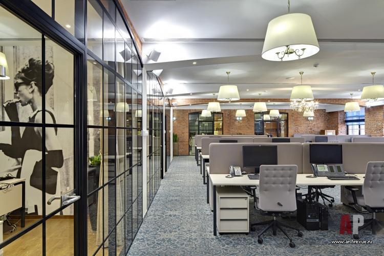 Современный стиль и правила оформления офиса