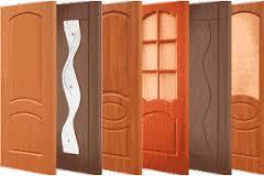 Материалы для облицовки межкомнатных дверей