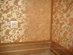 Как сделать драпировку стены тканью