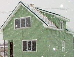 Как правильно обшить сайдингом фасад каркасного дома