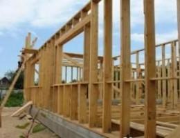 Расчет материала для строительства стен каркасного дома