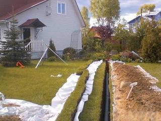 Коммуникации загородного дома